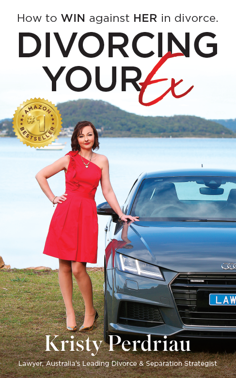 Divorcing your Ex - How to WIN against HER in divorce - Amazon1 cover